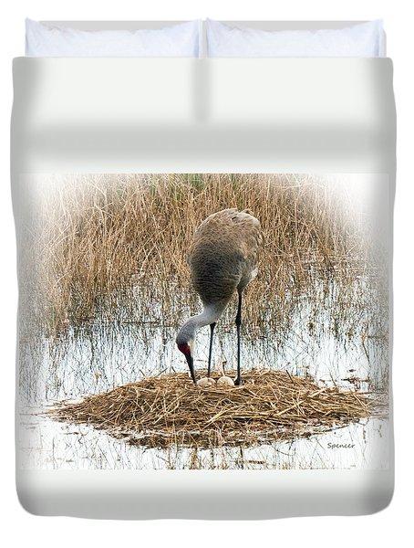 The Nest Duvet Cover