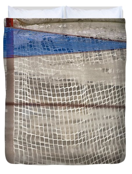 The Net Reflection Duvet Cover by Karol Livote