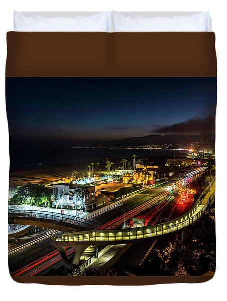 The New P C H Overpass - Night Duvet Cover