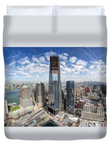 The New World Trade Center Duvet Cover