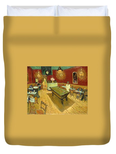 The Night Cafe Auto Contrasted Duvet Cover