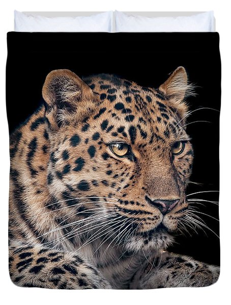 The Night Watchman Duvet Cover