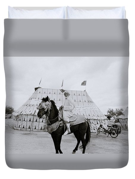 The Noble Man Duvet Cover