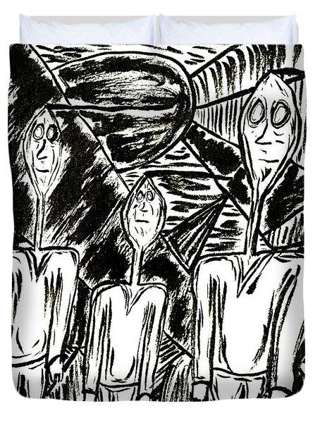 The Nod Trio Circa 1967 Duvet Cover