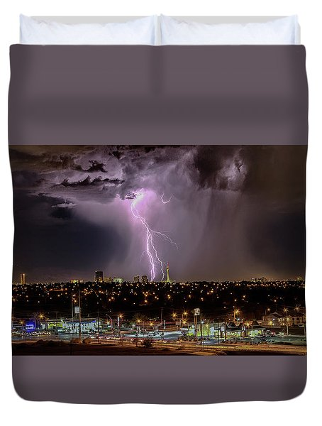 The North American Monsoon Duvet Cover