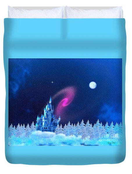 The North Pole Duvet Cover by Corey Ford