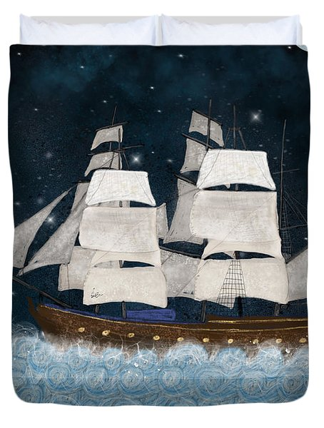 The North Star Duvet Cover
