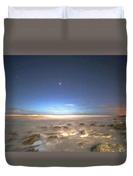The Ocean Desert Duvet Cover
