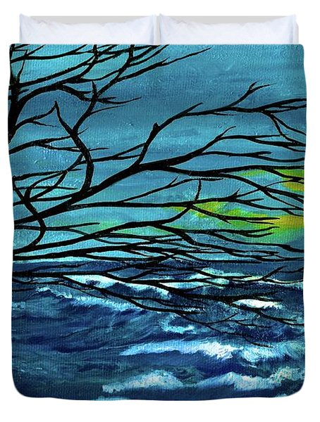 The Ocean Duvet Cover