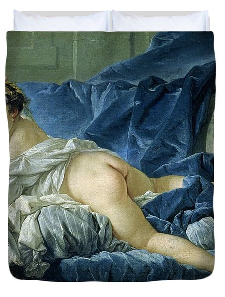 The Odalisque Duvet Cover by Francois Boucher