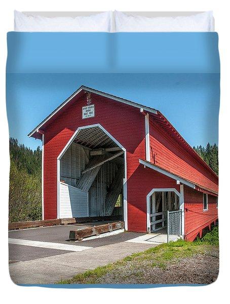 The Office Bridge Duvet Cover