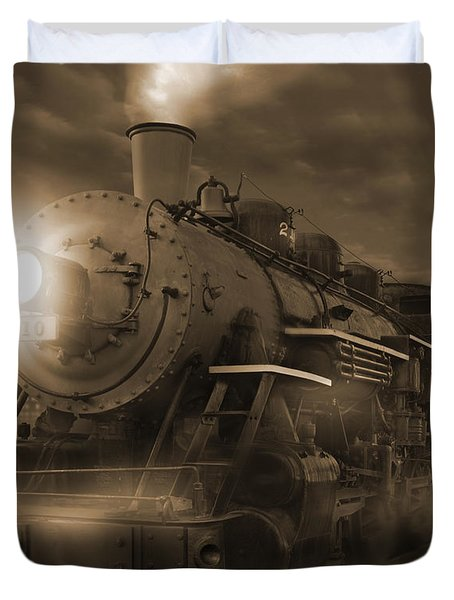 The Old 210 Duvet Cover by Mike McGlothlen