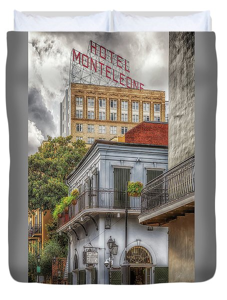 The Old Absinthe House Duvet Cover