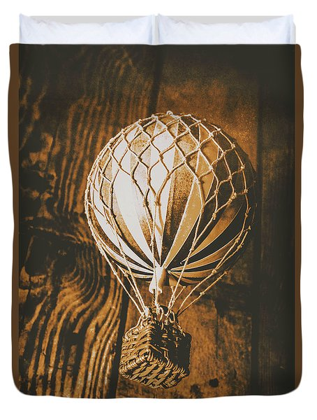 The Old Airship Duvet Cover