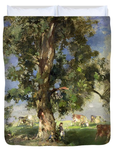 The Old Ash Tree Duvet Cover