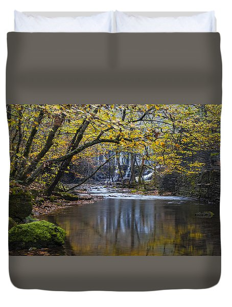 The Old Blanchard Mill Duvet Cover