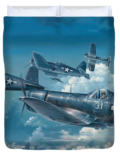 The Old Breed Duvet Cover