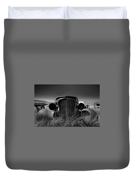 The Old Buick Duvet Cover