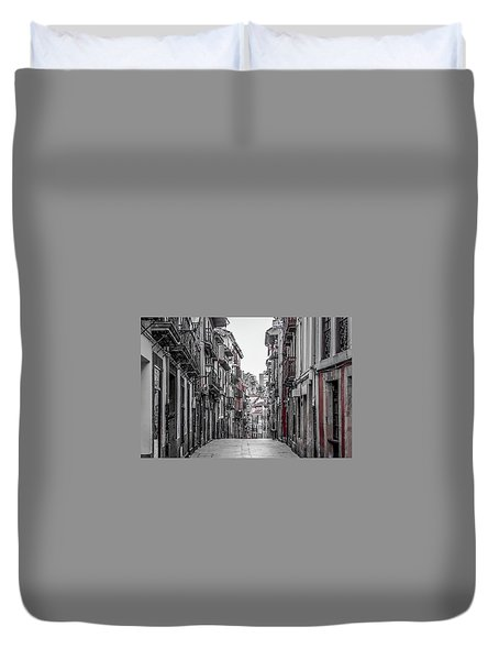 The Old City Duvet Cover