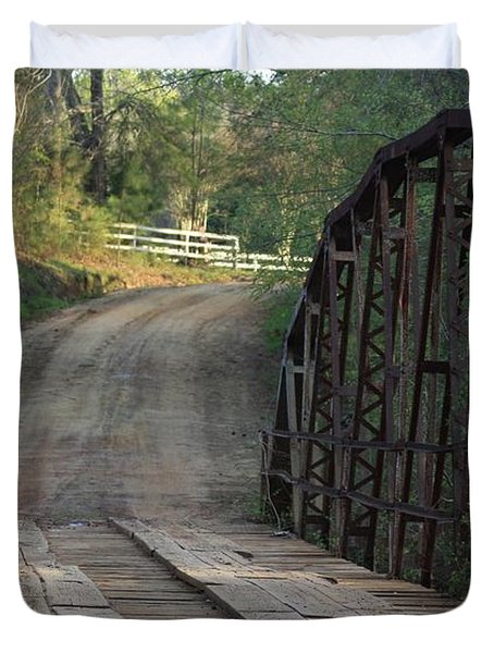 The Old Country Bridge Duvet Cover