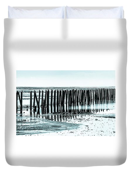 The Old Docks Duvet Cover