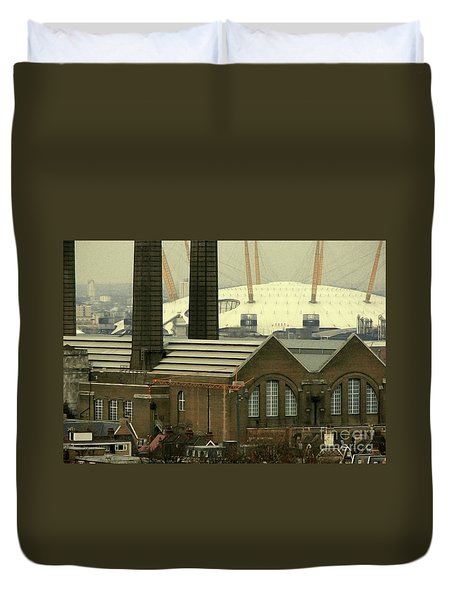 The Old Factory Duvet Cover by Christo Christov