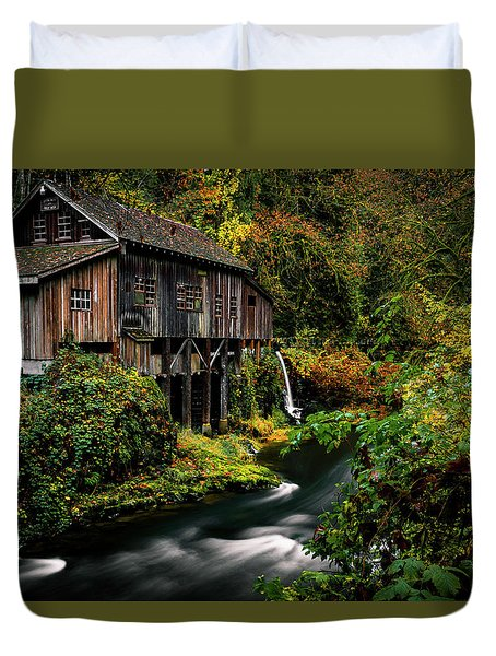 The Old Flour Mill Duvet Cover