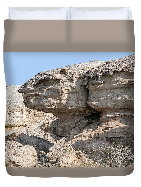 The Old Gatekeeper Duvet Cover