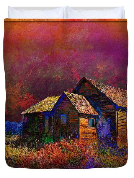 The Old Homestead Duvet Cover