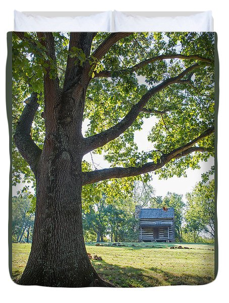 The Old Homestead Duvet Cover by Kevin McCarthy