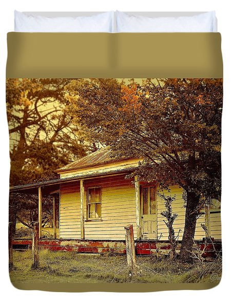 The Old Homestead Duvet Cover by Wallaroo Images