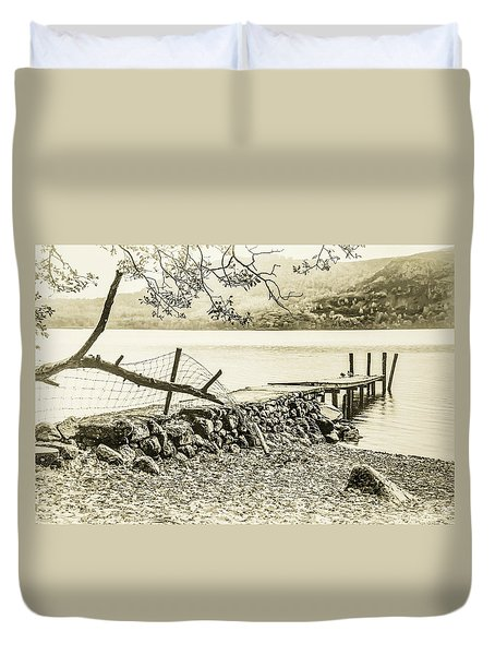 The Old Jetty Duvet Cover