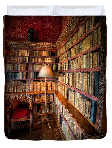 The Old Library Duvet Cover