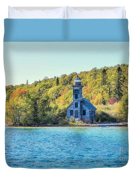 The Old Light House Duvet Cover