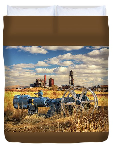 The Old Lumber Mill Duvet Cover