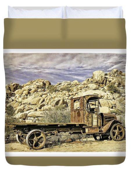 The Old Mack Duvet Cover