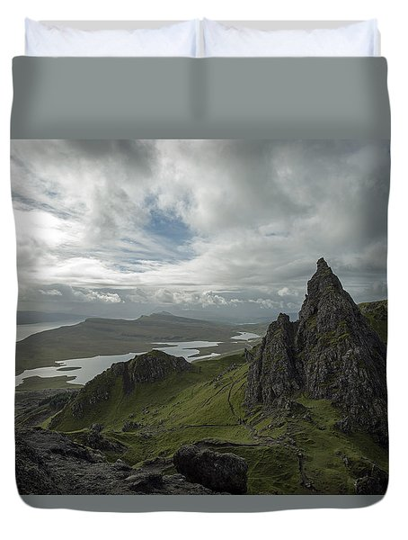 The Old Man Of Storr Duvet Cover