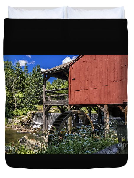 The Old Mill Museum. Duvet Cover