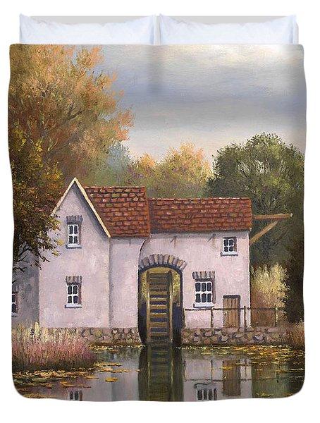 The Old Mill Duvet Cover by Sean Conlon