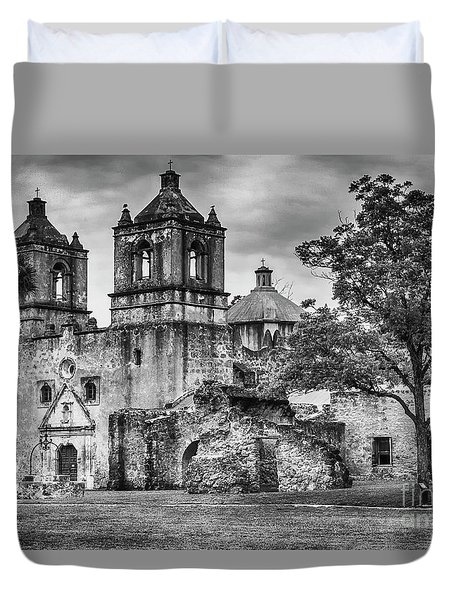 The Old Mission Duvet Cover
