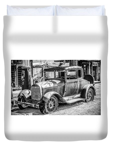 The Old Model Duvet Cover by Marius Sipa