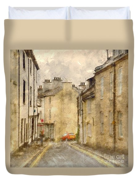 The Old Part Of Town Duvet Cover