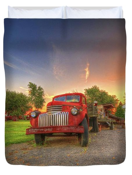 Country Treasure Duvet Cover