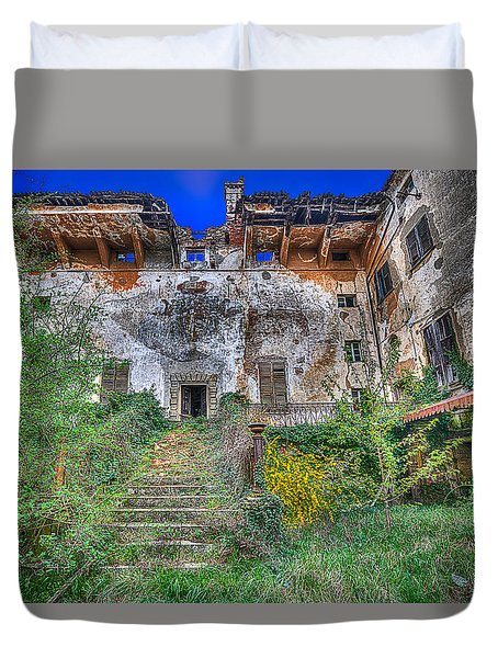 The Old Ruined Castle Duvet Cover
