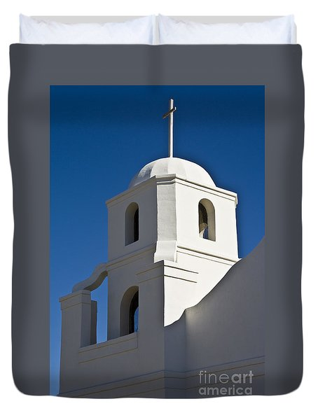 The Old Scottsdale Mission Duvet Cover