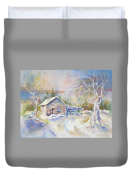 The Old Shed Duvet Cover