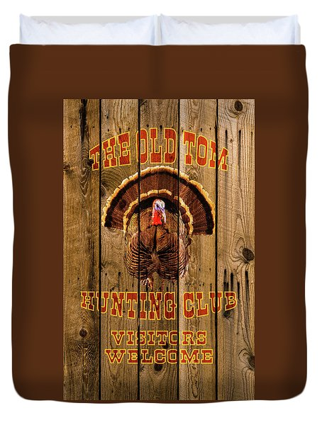 The Old Tom Hunting Club No. 2 Duvet Cover by TL Mair