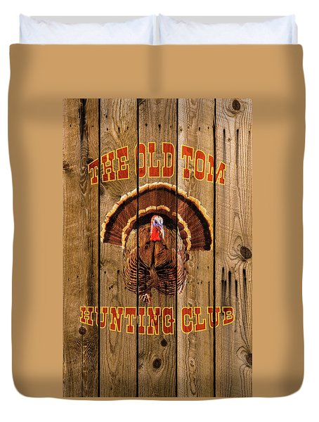 The Old Tom Hunting Club No. 3 Duvet Cover by TL Mair