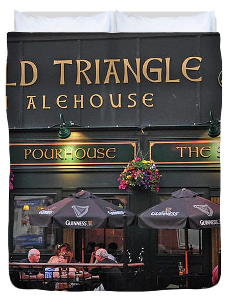 The Old Triangle Alehouse Duvet Cover