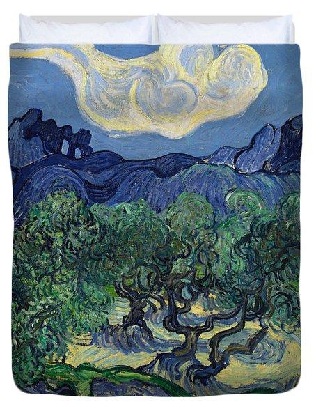 The Olive Trees Duvet Cover
